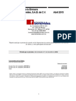 Informe 2014 - Farmacias Benavides