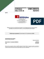Informe_2011 Farmacias Benavides