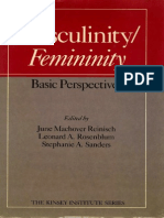 June Machover Reinisch, Leonard a. Rosenblum, Stephanie a. Sanders-Masculinity Femininity_ Basic Perspectives (Kinsey Institute Series) -Oxford University Press, USA (1987)