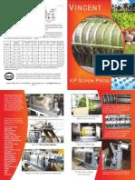 Catalogo VINCENT New Series Kp Presses