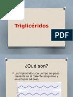 Trigliceridos, Absorcion y Digestion de Los Lipidos
