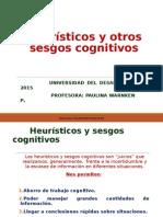 Heurísticos y otros sesgos cognitivos. WEB (1)