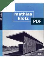 EL Croquis - Mathias Klotz