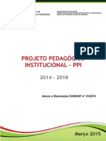 Plano Pedagógico IFRJ 2014-2018
