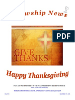 November 17, 2015 The Fellowship News