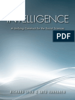 Intelligence a Unifying Construct for the Social Sciences
