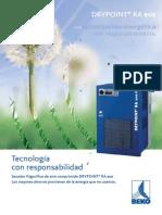 DRYPOINT RA Eco- Secadores Frigorificos Energéticamente Eficientes