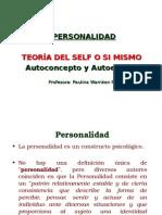 Personalidad. Teoría del Self. 2015. P.W
