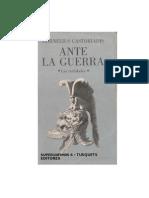 Castoriadis_Ante La Guerra