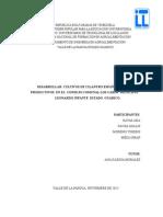 DESARROLLAR  CULTIVOS DE CILANTRO ESPAÑA EN PATIOS         PRODUCTIVOS  EN EL  CONSEJO COMUNAL LOS CAROS  MUNICIPIO.docx