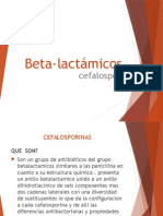 Beta Lactámicos