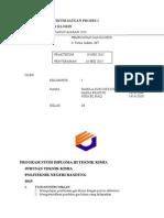 Laporan Praktikum Satuan Proses 1 Gas Chlorine