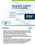 Frame of Techno Economy Analysis of US Economy