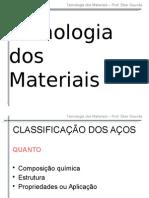 Aula 07 - Classificacao Dos Acos