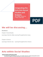 integrating art into ss and science