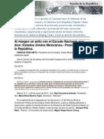 09-05-14 Convenio entre el gobierno de los Estados Unidos Mexicanos y El Gobierno de La República Popular China