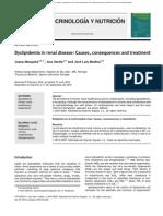 Dyslipidemia in renal disease