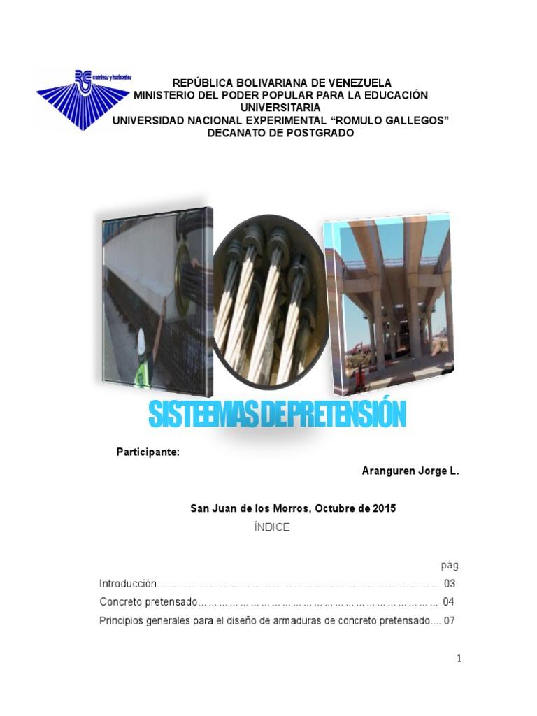 Principios Generales Para El Diseño de Una Estructura de Concreto ...