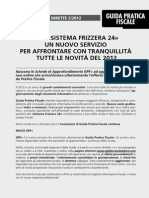 Frizzera - Imposte Dirette Ed2012
