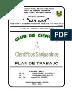 Plan de Trabajo Yanacocha 2015