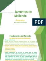 Fundamentos de Molienda MALN 2015