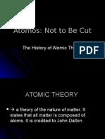 1 - History of Atomic Theory