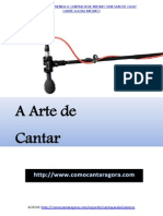 A Arte de Cantar eBook