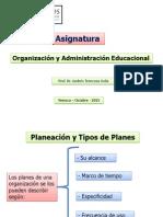 Power 3 - Planeación y Tipos de Planes