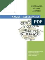 Nagas - Salvedades