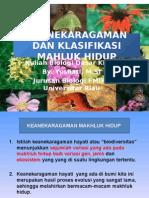 Pert 6 Keanekaragaman Dan Klasifikasi