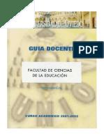 GD 2001 2002 Ciencias Educacion