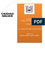 CIUDAD MUJER Y COMITES LOCALES EN ATENCION A LA NIñE Y ADOLESCENCIA EN EL SALVADOR