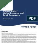 NHL Nomad Foods Nov 2015 Investor Presentation