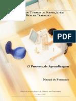 Manual do Tutor em Formação em Contexto Real de Trabalho