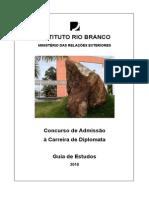 Guia de Estudos 2010