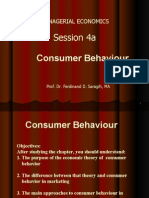 Theory of Consumers Behavior