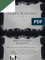 Family Planning Community Health Presentation