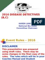 20116 Disease Detectives Powerpoint