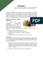 Parametros de calidad en bebidas alcoholicas