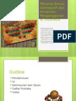 Peluang Bonus Demografi Dan Ancaman Pengangguran Di Indonesia