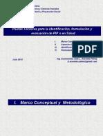 Pautas Técnicas PIP´s en Salud 2015.ppt