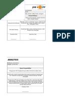 contoh Job Safety Analysis PT.BMR