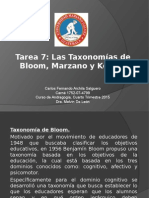 Taxonomias Educativas