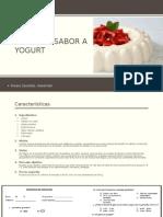 Gelatina Sabor Yogurt