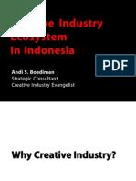 Creative Industry Ecosystem