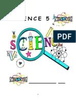 Science 5 Workbook