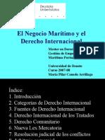 El Negocio Marítimo y El Derecho Internacional  MAAV
