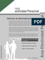 Área Efectividad Personal