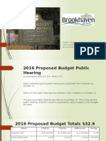 2016 Proposed Budget Presentations 11-17-2015 DRAFT