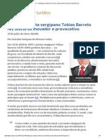 152 - ConJur - Embargos Culturais_ Discurso de Paraninfo Do Jurista Tobias Barreto